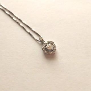 JEWELRY TSUTSUMI - ジュエリーツツミ K14WGダイヤモンドプチネックレス