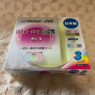 ビクター(Victor)のVictor.JVC  BD-RE(DL) 3pack(その他)