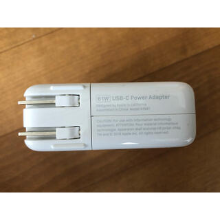 Mac (Apple) - Apple Macbook 61WUSB-C 正規充電器