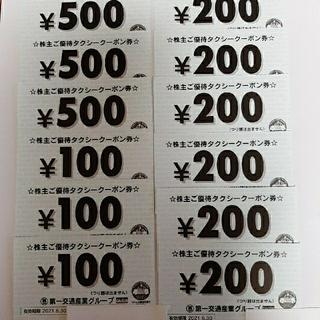 第一交通産業 株主優待券 8000円分(その他)