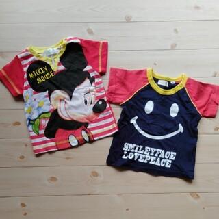 ディズニー(Disney)の半袖シャツ2枚(Tシャツ)