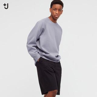 ユニクロ(UNIQLO)の未使用 ユニクロ +J ドライスウェットシャツ グレー Lサイズ(スウェット)