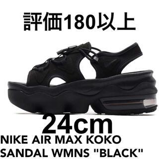 """ナイキ(NIKE)の NIKE AIR MAX KOKO SANDAL WMNS """"BLACK(サンダル)"""