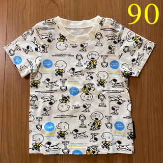 SNOOPY - スヌーピー☆半袖Tシャツ 90