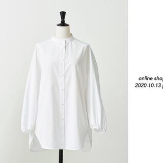Drawer - 2020 yori  バックギャザーシャツ 36 ホワイト