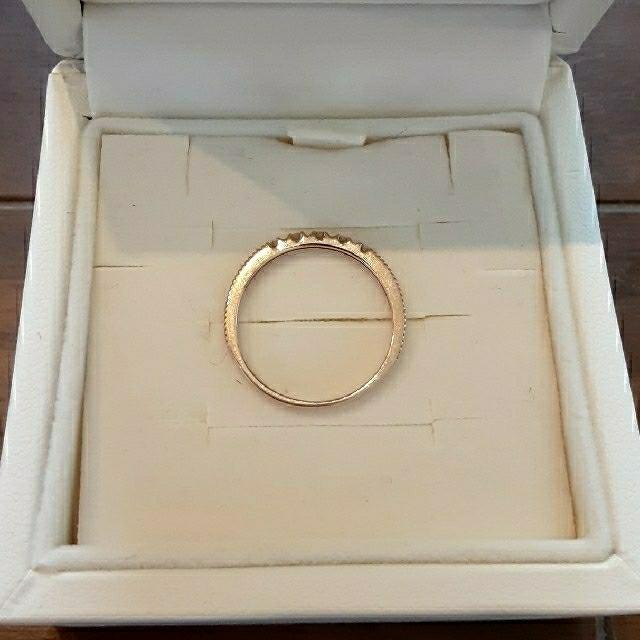 Vendome Aoyama(ヴァンドームアオヤマ)のヴァンドーム青山 K18ピンキーリング 5号 ピンクゴールド PG 指輪 レディースのアクセサリー(リング(指輪))の商品写真