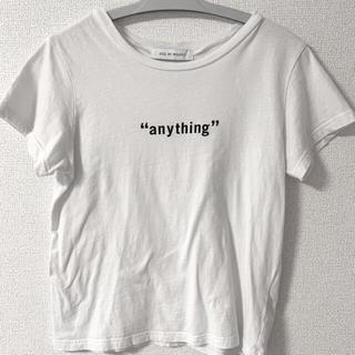 アズールバイマウジー(AZUL by moussy)のAZUL 100%コットン素材トップス(Tシャツ(半袖/袖なし))