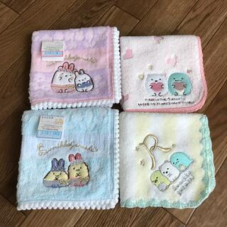サンエックス - すみっコぐらしタオルハンカチまとめ売り 新品未使用 ミニタオル