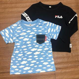 FILA - 新品◆Tシャツ FILA 西松屋 2枚セット◆95cm