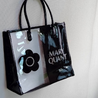 MARY QUANT - MARY QUANT  (超美品)★マリーズクリアトート
