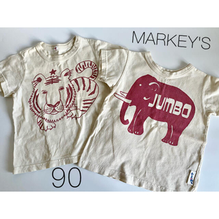 MARKEY'S - MARKEY'S  マーキーズ Tシャツ 2枚セット 90サイズ