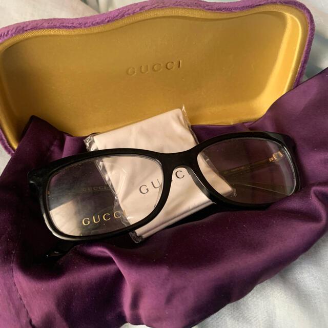 Gucci(グッチ)のグッチ 伊達メガネ メンズのファッション小物(サングラス/メガネ)の商品写真