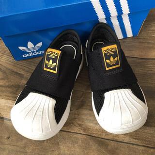 adidas - adidas アディダス ベビー キッズ シューズ トレフォイル 13cm 黒