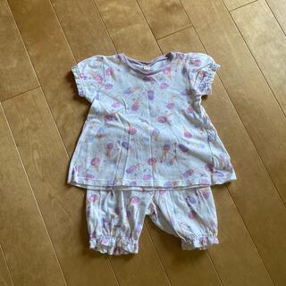 アンパサンド(ampersand)のampersand アンパサンド アイスクリーム柄 半袖パジャマ 110cm(パジャマ)