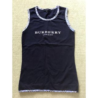 BURBERRY - BURBERRY タンクトップ Mサイズ子供用