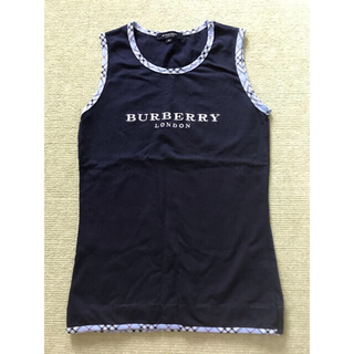 BURBERRY - BURBERRY タンクトップ Mサイズ