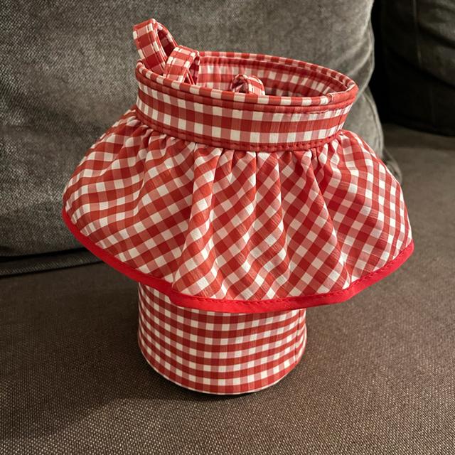 LUDLOW(ラドロー)のazay様専用値下げ美品セツコサジテール赤ギンガムマイクロシティ レディースのバッグ(ショルダーバッグ)の商品写真