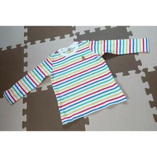 mikihouse - ミキハウスカラフルボーダーロンTサイズ90長袖