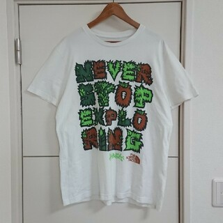 THE NORTH FACE - THE NORTH FACE Tシャツ 古着 デカプリント ノースフェイス