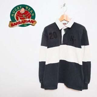 バーバリアン(Barbarian)のBARBARIAN バーバリアン ラガーシャツ(ポロシャツ)