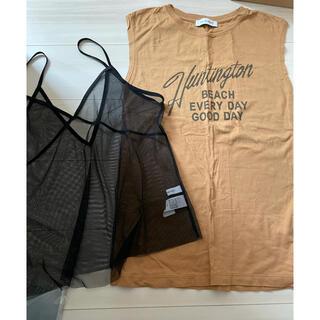 アズールバイマウジー(AZUL by moussy)のマウジー moussy Tシャツ (Tシャツ(半袖/袖なし))