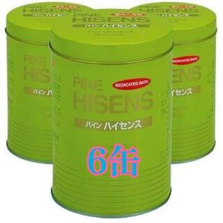 パインハイセンス 入浴剤 6缶