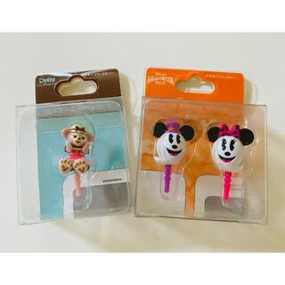 ディズニー(Disney)のイヤホンジャック スマートフォン アクセサリー ディズニー セット販売(ストラップ/イヤホンジャック)