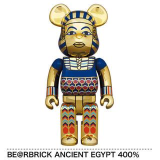 メディコムトイ(MEDICOM TOY)のBE@RBRICK ベアブリック ANCIENT EGYPT 400% エジプト(キャラクターグッズ)