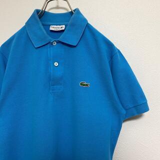 ラコステ(LACOSTE)のラコステ ポロシャツ メンズ LACOSTE 半袖 シャツ 青 ブルー(ポロシャツ)