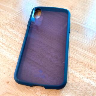 エレコム(ELECOM)のiPhoneXS カバー タフスリムライト ブラック(iPhoneケース)