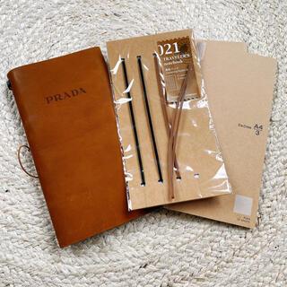 プラダ(PRADA)のPRADA トラベラーズノート ラージサイズ(ノート/メモ帳/ふせん)