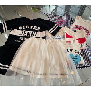 ジェニィ(JENNI)の★JENNI &ALGY★可愛い夏の8点セット★130cm(その他)