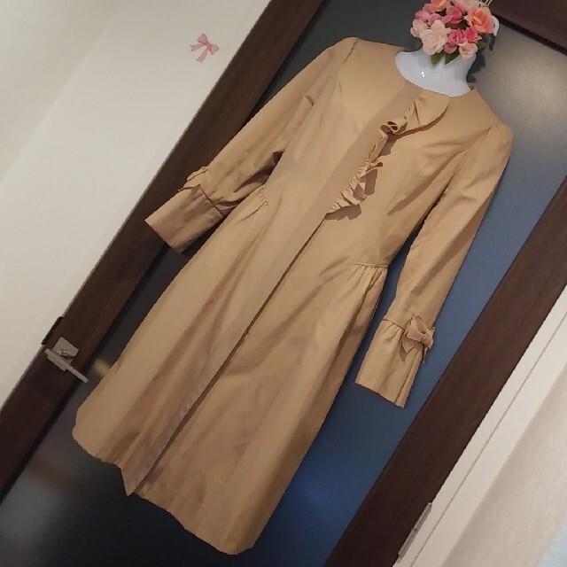 GALLERY VISCONTI(ギャラリービスコンティ)の✨🎀おりぼん✨🎀カタログ掲載スプリングコート✨🎀 レディースのジャケット/アウター(トレンチコート)の商品写真