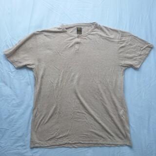 エストネーション(ESTNATION)のBATONER バトナー 奥野メリヤス Tシャツ ヘンリーネック(Tシャツ/カットソー(半袖/袖なし))