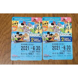 ディズニー(Disney)のディズニーリゾートライン パス(遊園地/テーマパーク)
