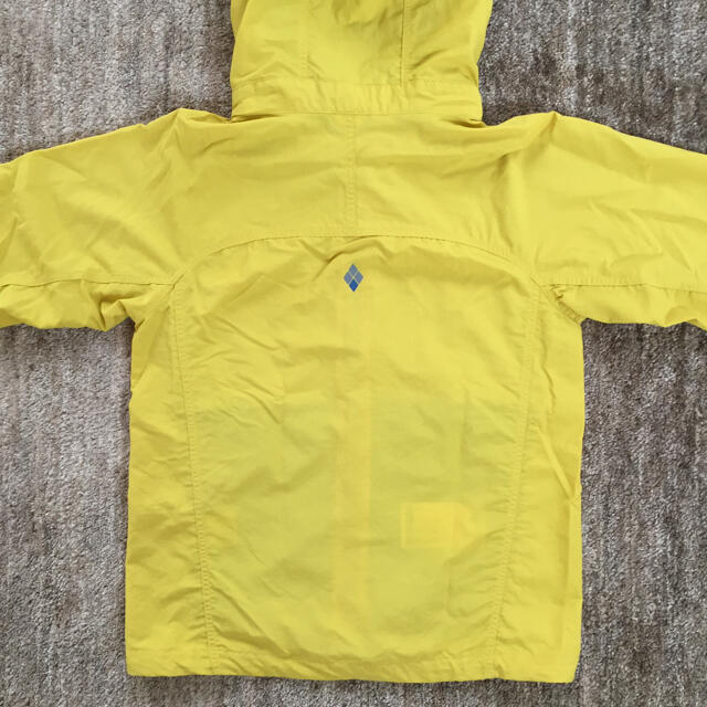 mont bell(モンベル)の美品★モンベル  130センチ アウター 上着 キッズ/ベビー/マタニティのキッズ服男の子用(90cm~)(ジャケット/上着)の商品写真