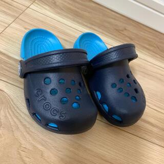 クロックス(crocs)の美品 クロックス 14センチ 子供用 子供(サンダル)