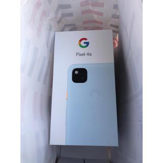 Google Pixel - 新品未使用 Google pixel4a ソフトバンク版 SIM解除 128GB