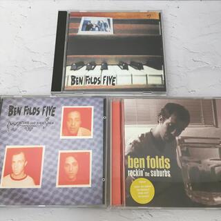 Ben Folds(ベン・フォールズ)『名盤 3枚 セット』輸入盤【中古】(ポップス/ロック(洋楽))