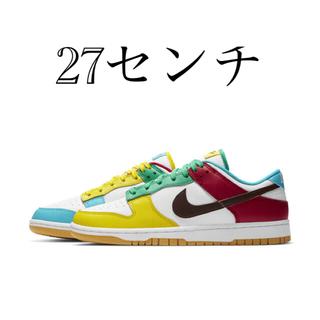 NIKE - ダンク LOW Free.99 White 27