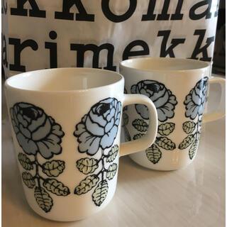 marimekko - マリメッコ ヴィヒキルース マグカップ2個セット