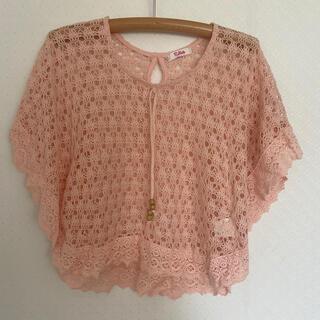 ピンクラテ(PINK-latte)のピンク トップス(Tシャツ(半袖/袖なし))