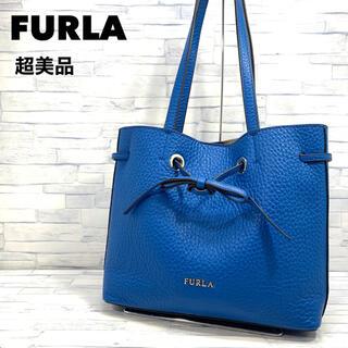 Furla - 超美品 FURLA フルラ  コスタンザ トートバッグ  シボ レザー