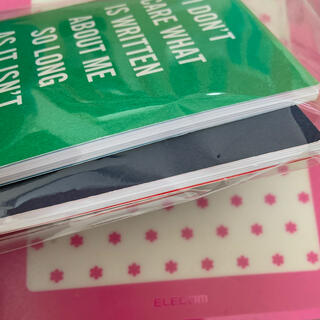 ケイトスペードニューヨーク(kate spade new york)のケイトスペイド ノベルティ ミニノート メモ帳2冊(ノベルティグッズ)
