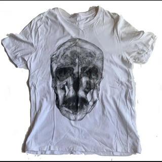 アレキサンダーマックイーン(Alexander McQueen)のレア! アレキサンダー マックイーン イタリア製 スカル Tシャツ(Tシャツ/カットソー(半袖/袖なし))