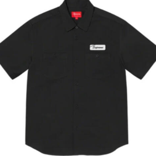 Supreme - Supreme Dog S/S Work Shirt Black