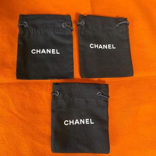 CHANEL - シャネル アクセサリー 巾着 3枚