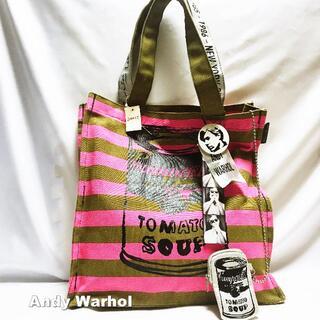アンディウォーホル(Andy Warhol)の【andy Warhol】Campbell Cans トートバッグ タグ付未使用(トートバッグ)