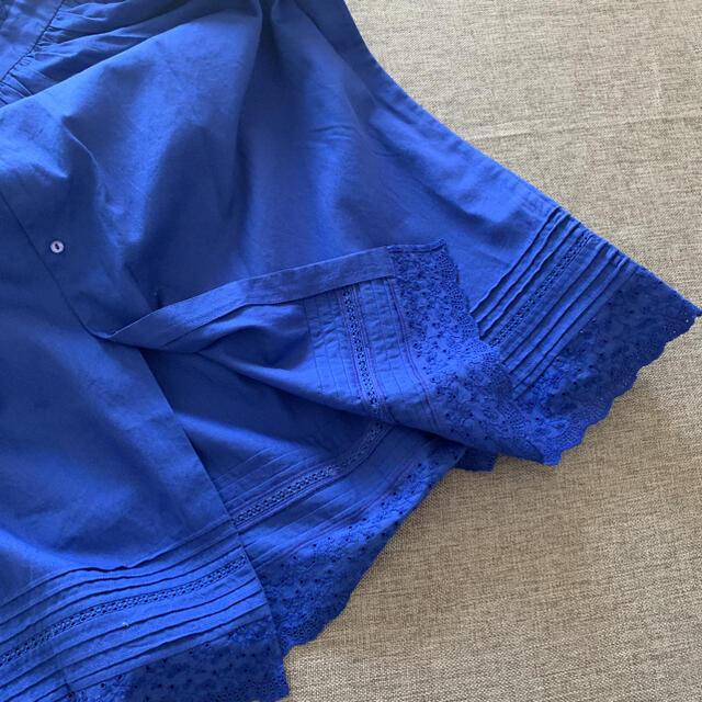 Bonpoint(ボンポワン)の未使用美品 ボンポワン 14y コットンレースワンピース キッズ/ベビー/マタニティのキッズ服女の子用(90cm~)(ワンピース)の商品写真