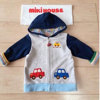 mikihouse - MIKIHOUSE◆プッチ―君可愛い!フードジャケット◆90センチ ミキハウス